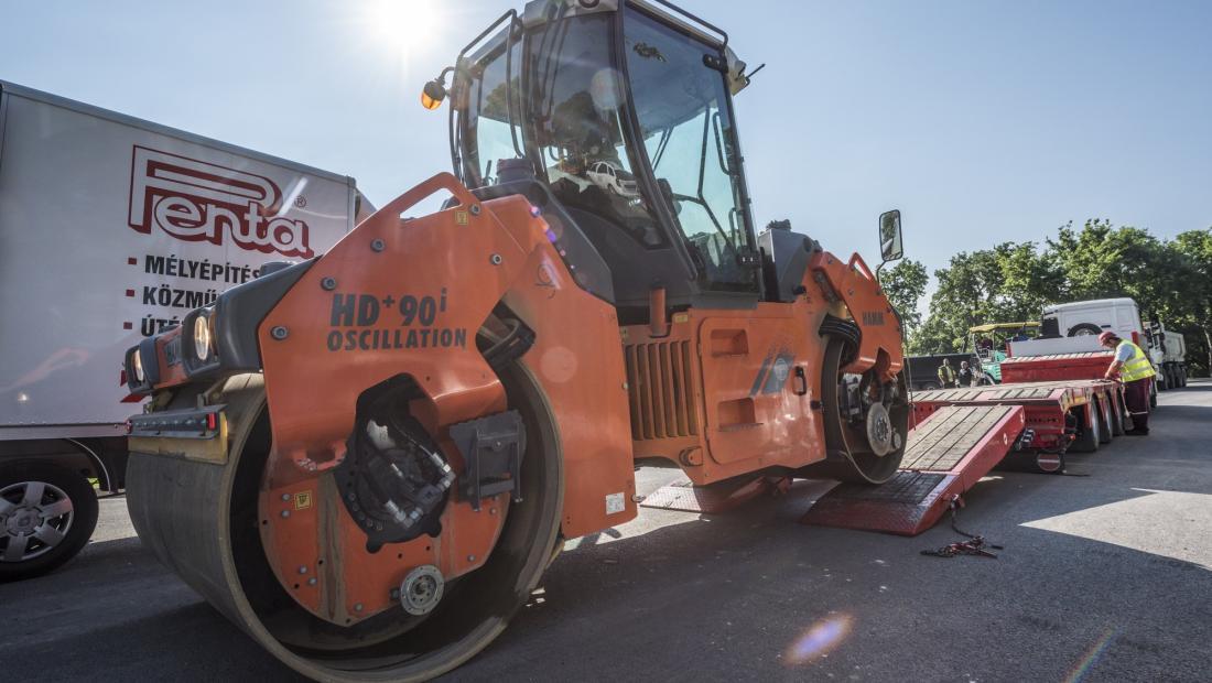 Határidő előtt elkészült a Határőr út felújításával a Penta Budapesten